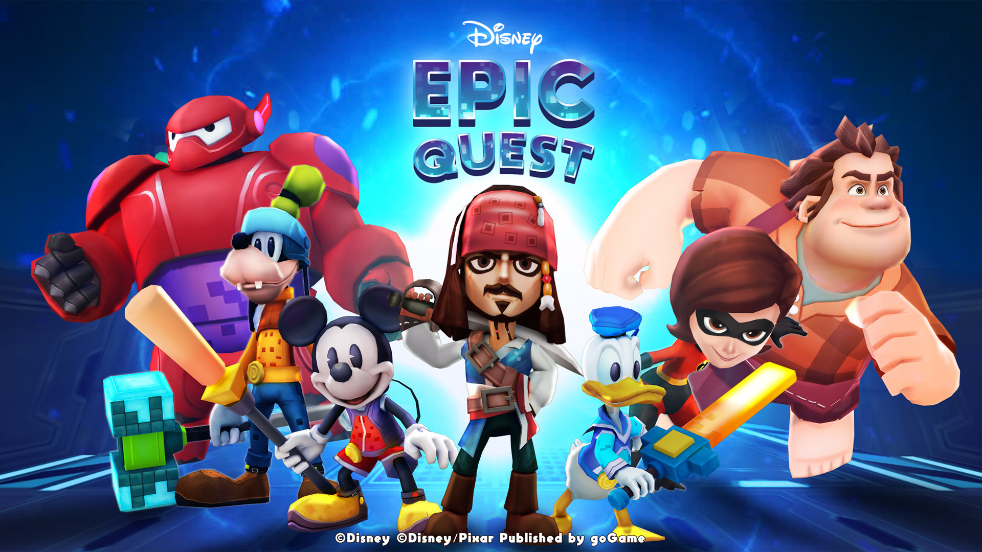 Disney Epic Quest - GameStart 2018 - 01