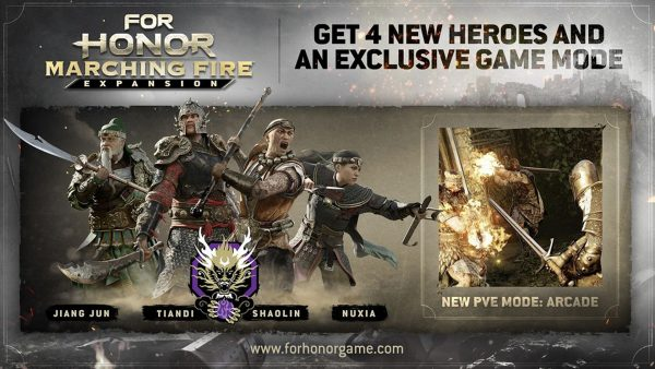 For Honor Marching Fire - 01