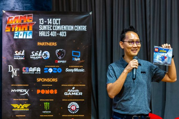 GameStart 2018 - Press Con - Alex Lui