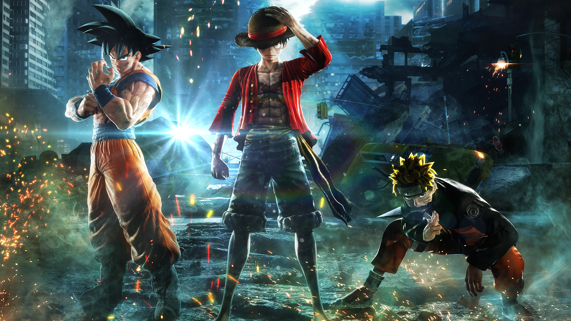 Jump Force - Key Art