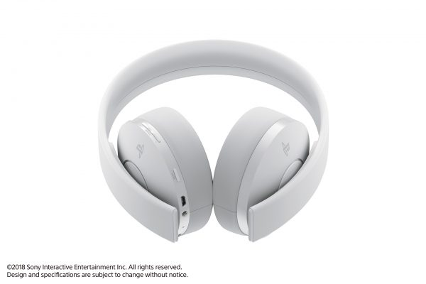 PS4 Wireless Headset - White 02