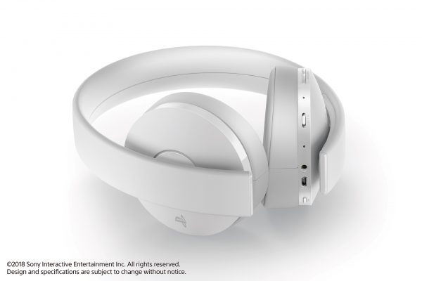 PS4 Wireless Headset - White 03