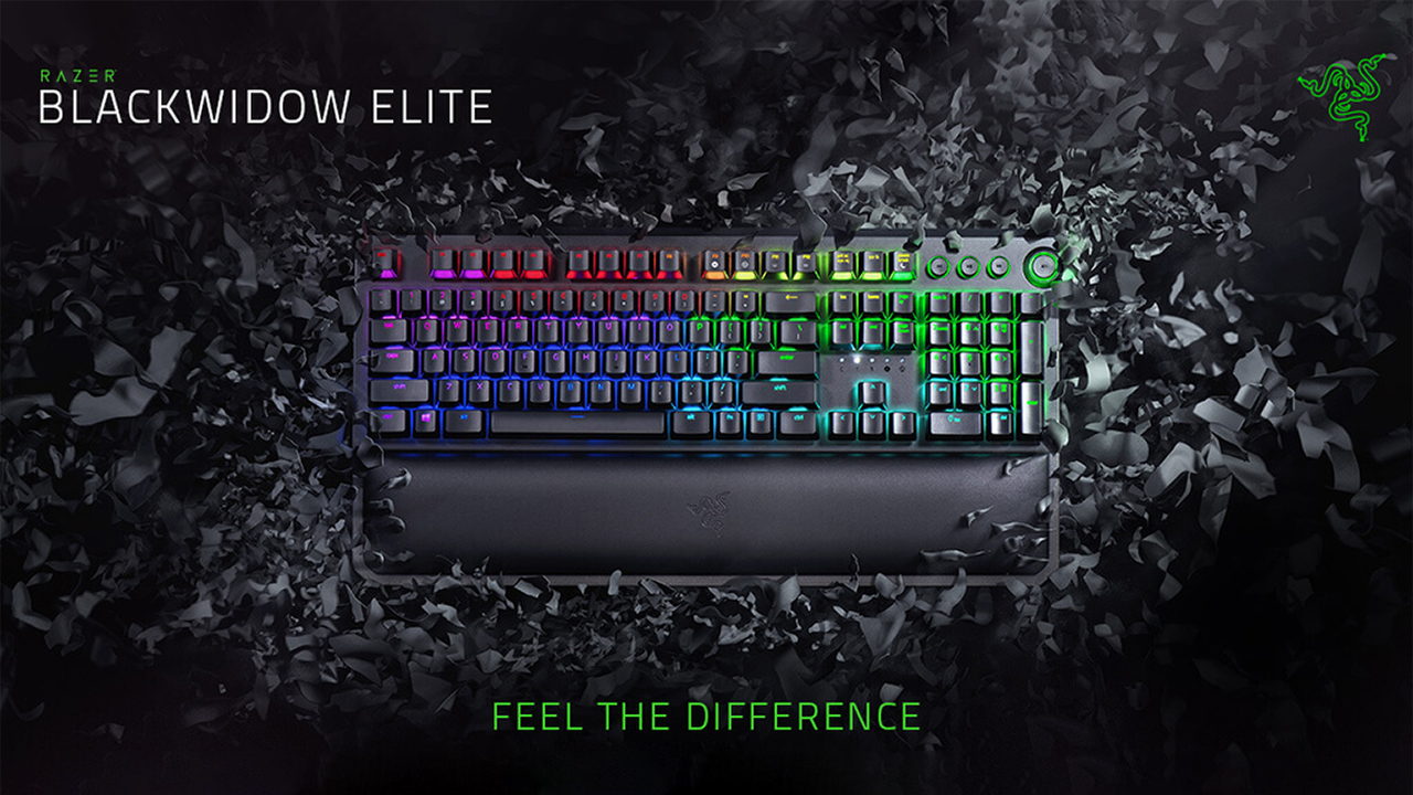 Razer BlackWidow Elite - Review 01