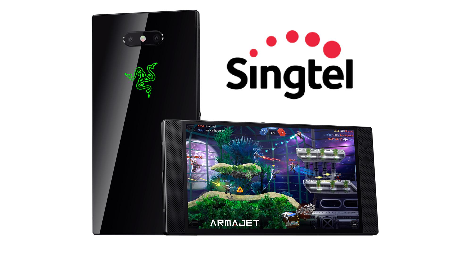 Razer Phone 2 Singtel - 01