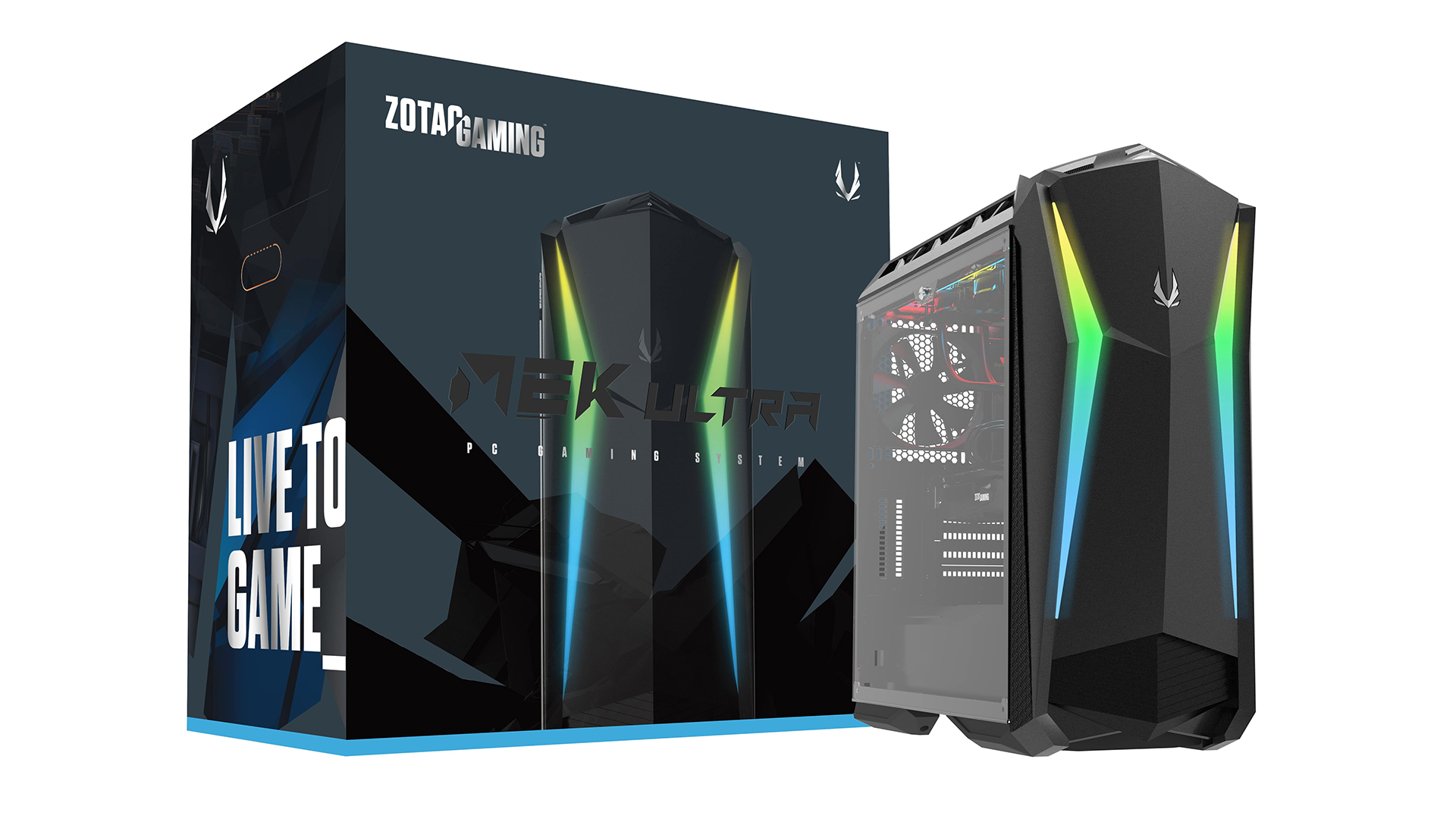 Zotac Gaming MEK Ultra PC - 01