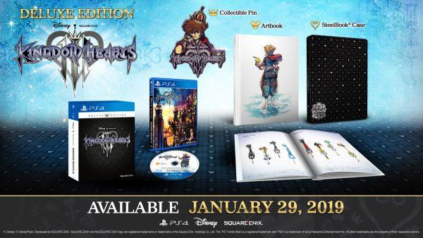 Kingdom Hearts III - Deluxe Edition PS4
