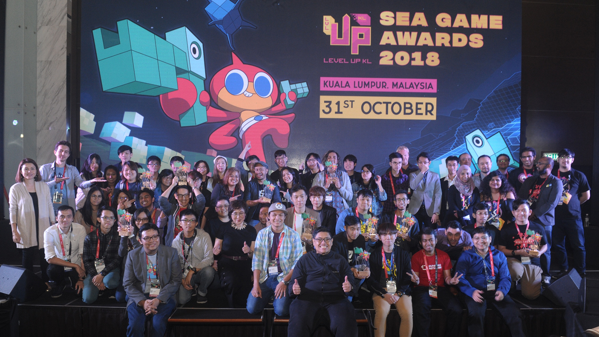 Level Up KL 2018 - SEA Game Awards 2018
