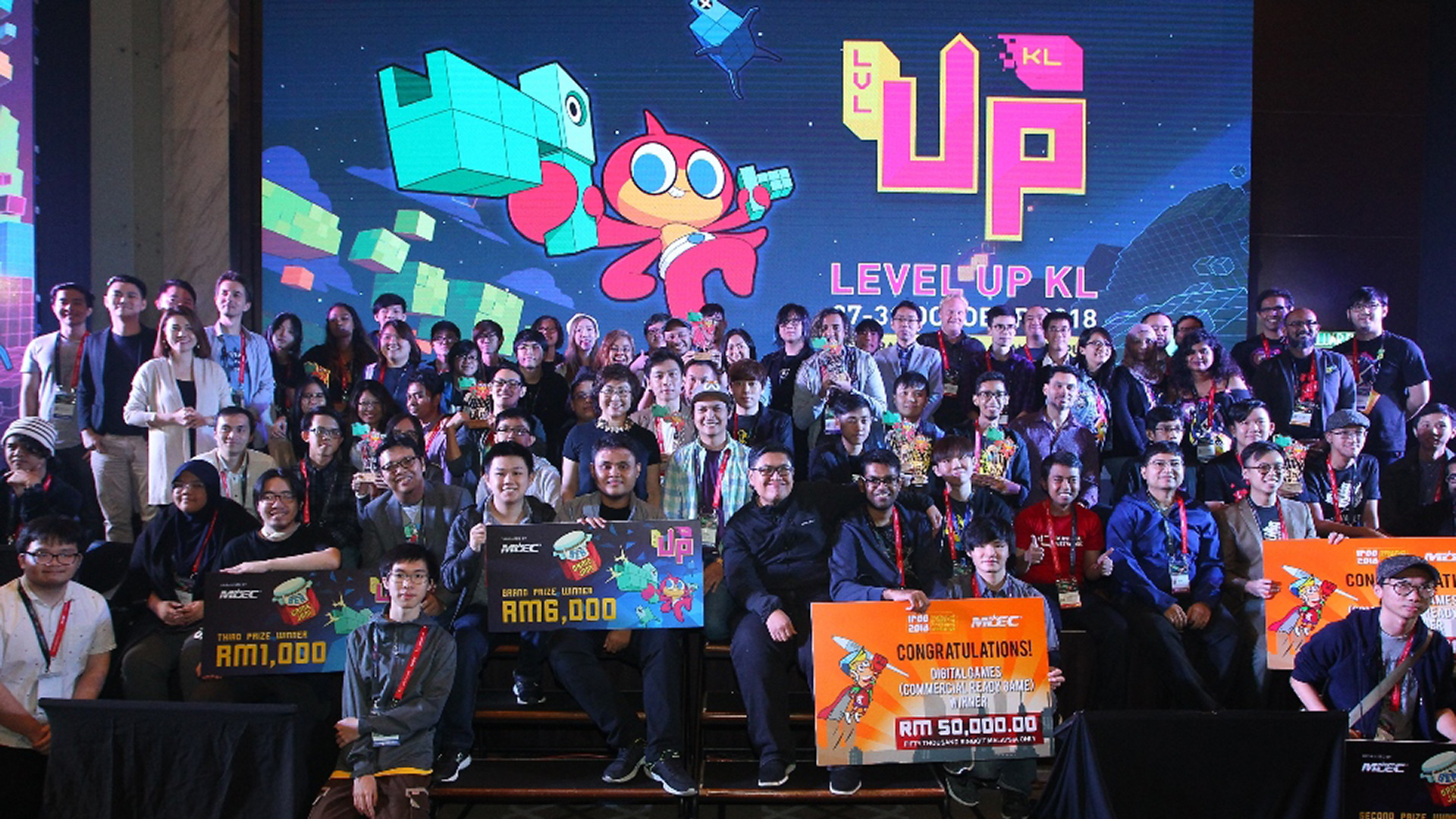 Level Up KL 2018 - Closing Stage