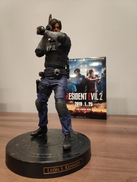 Resident Evil 2 Collector's Edition Leon Statue