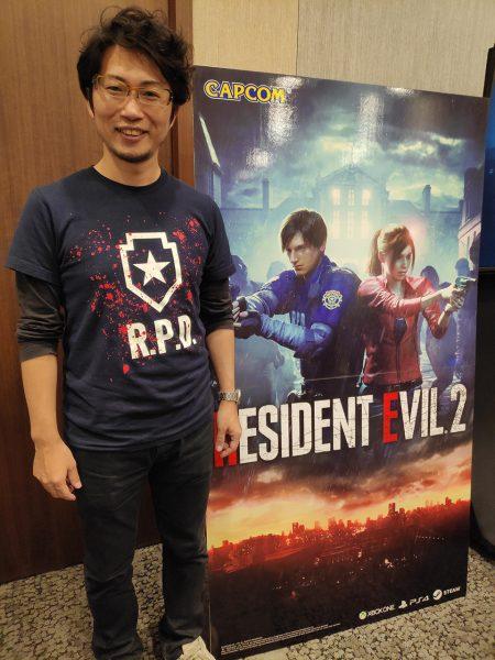 Resident Evil 2 Producer Yoshiaki Hirabayashi