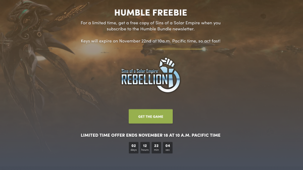 As an additional bonus to the Humble Bundle Store s Fall sale 42124ef989