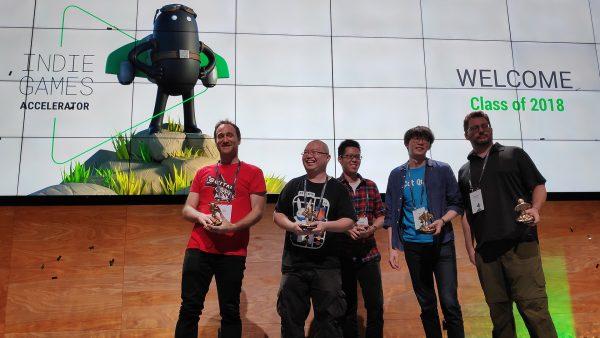 Google Indie Games Accelerator 2018 - SG Grads