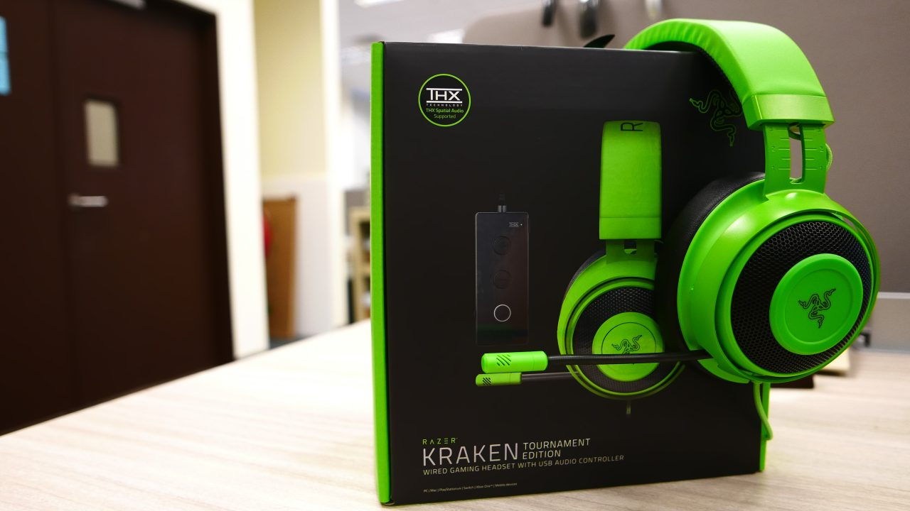 Razer Kraken Tournament Edition - Review 01
