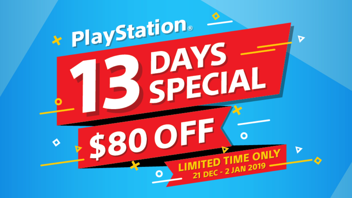 PlayStation 13 Days Sale crop