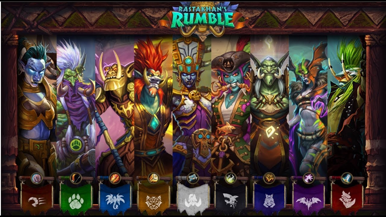 hearthstone rumble run