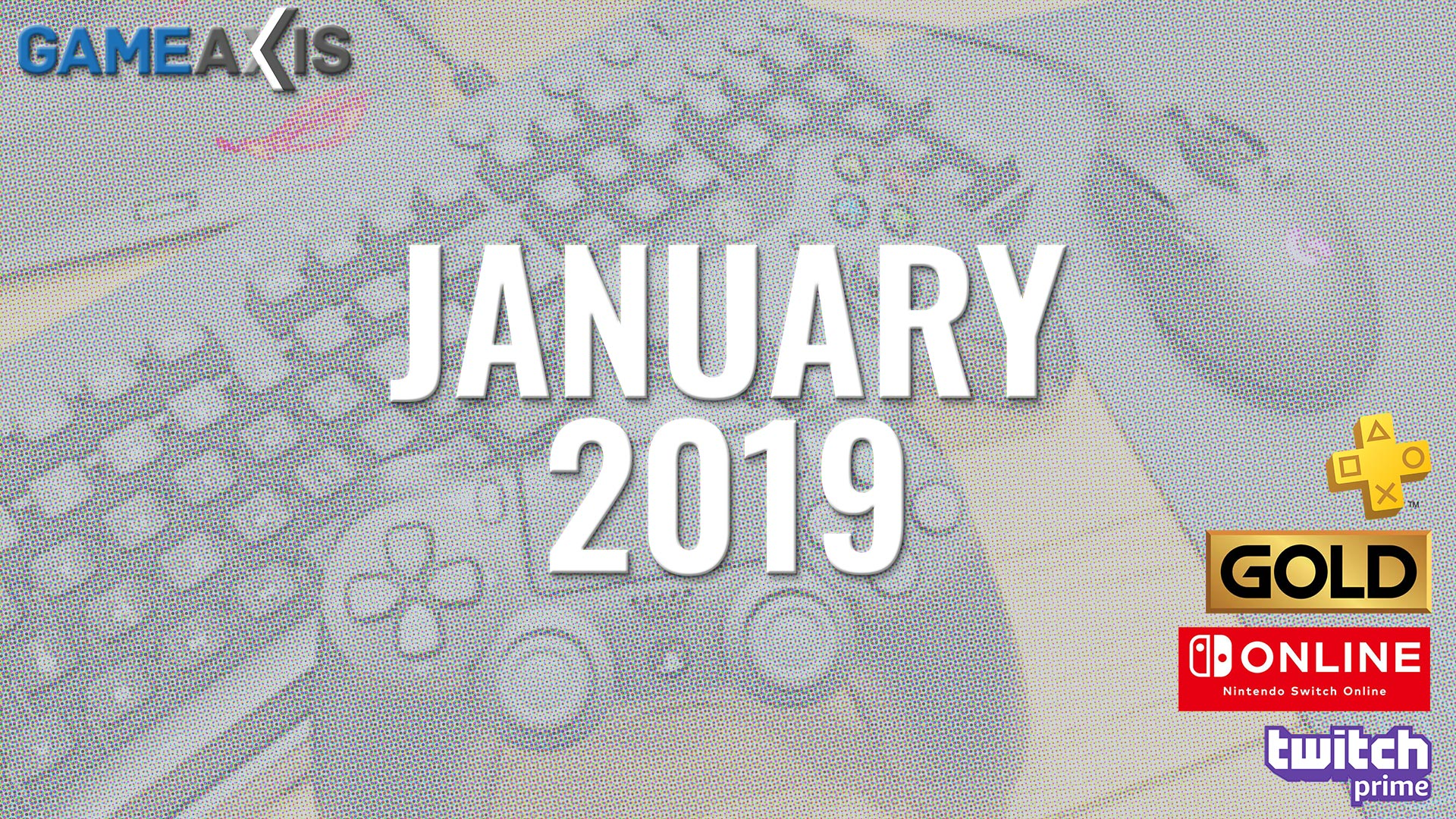 Games This Month - Jan 2019
