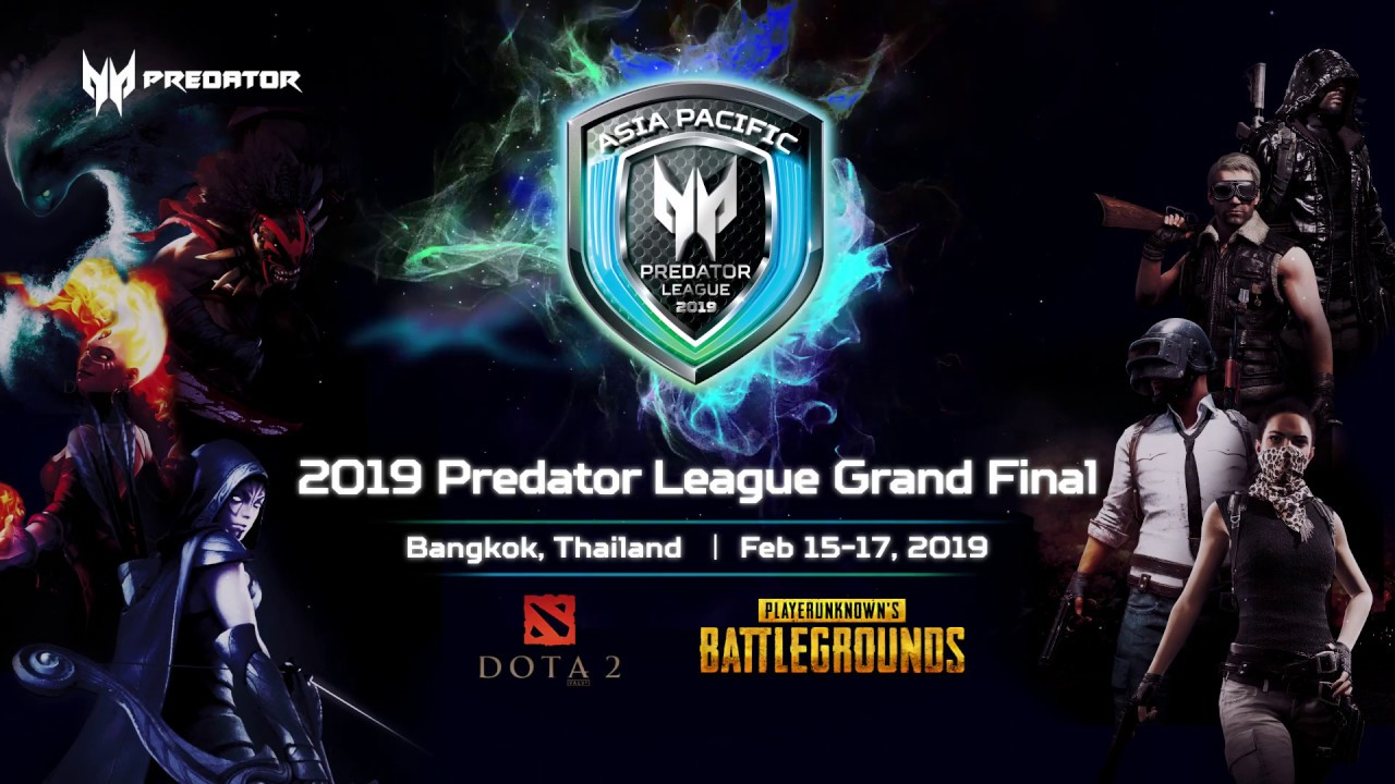 SG Predator League 2019