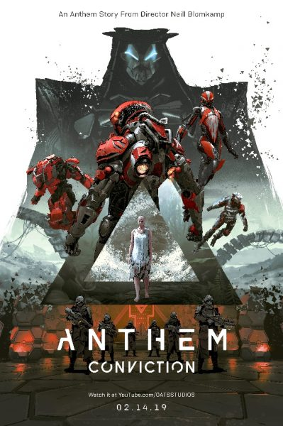 Anthem - Conviction poster