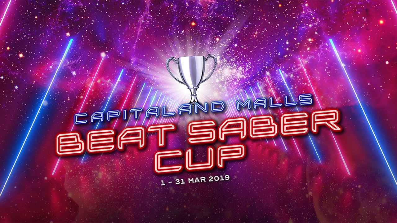 There's an island-wide Beat Saber competition happening in