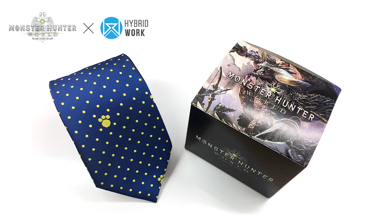 Monster Hunter Hybrid-Work Ties 01