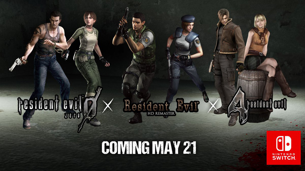 Resident Evil Remasters - Switch