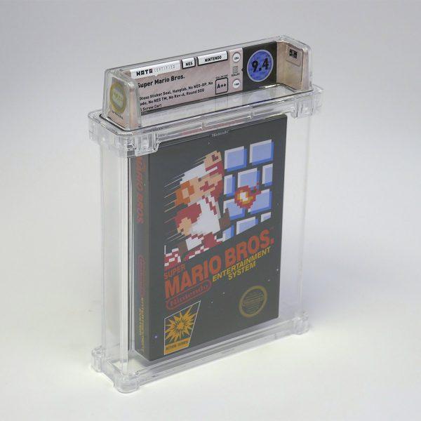Super Mario Bros. 1985 Mint WataGames - 01