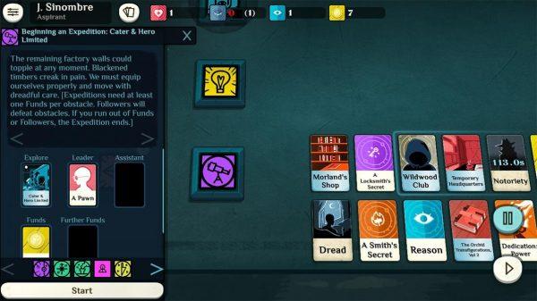 Cultist Simulator - Mobile screenshot