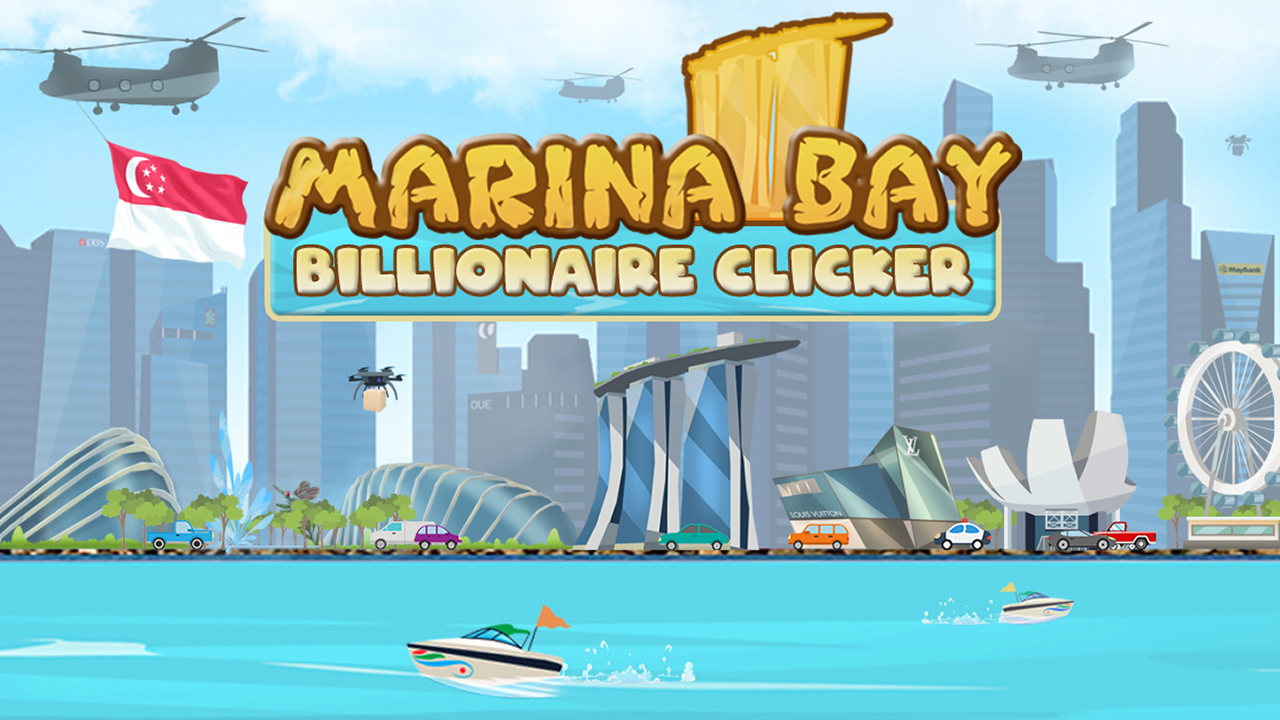 Marina Bay Billionaire Clicker banner