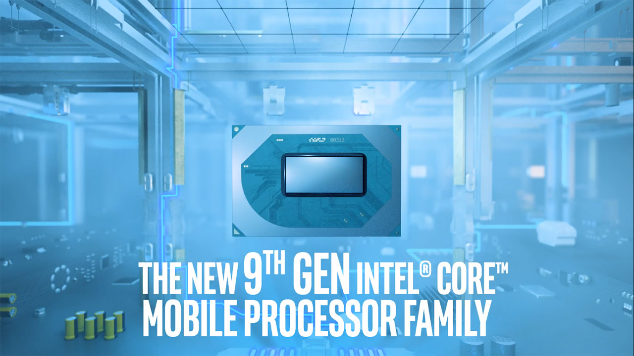 9th Gen Intel Core mobile
