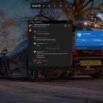 Microsoft Windows 10 Game Bar - Apr 2019 update