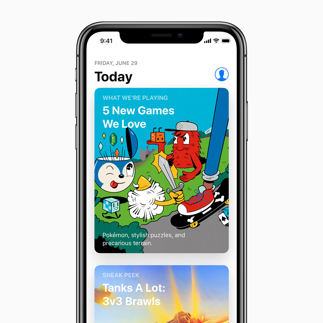 apple app store today tab