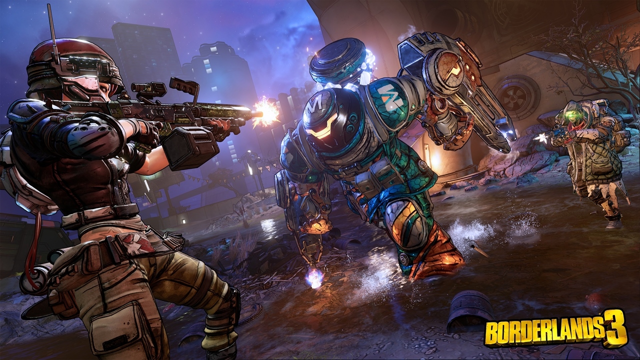 Borderlands 3 Gameplay Reveal - Group Combat