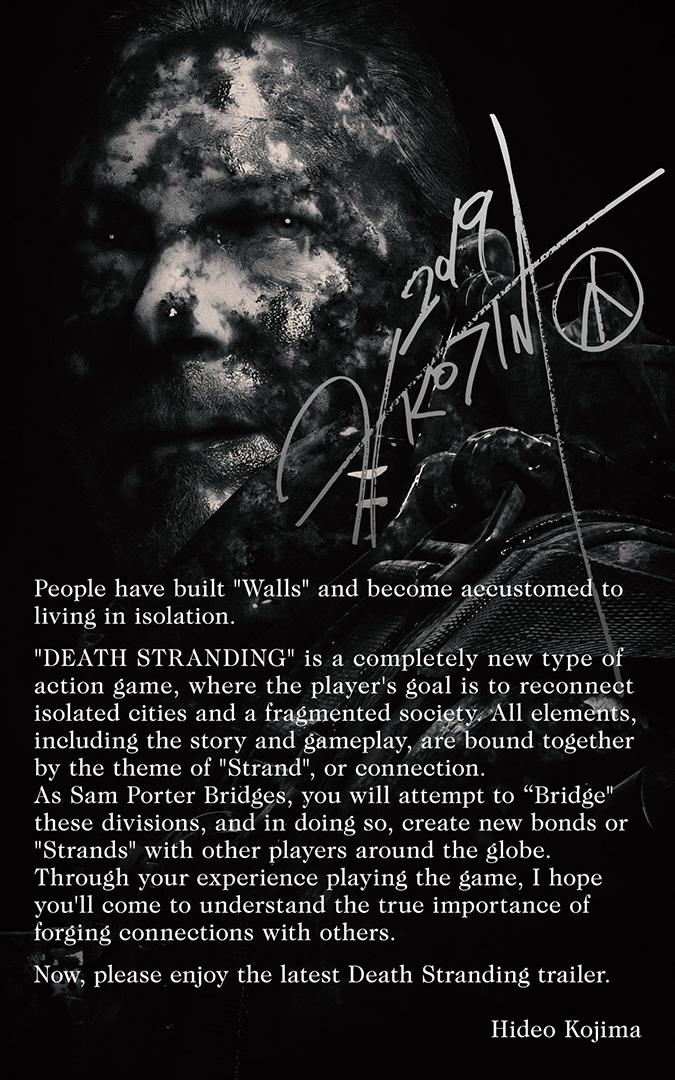 death stranding directors note