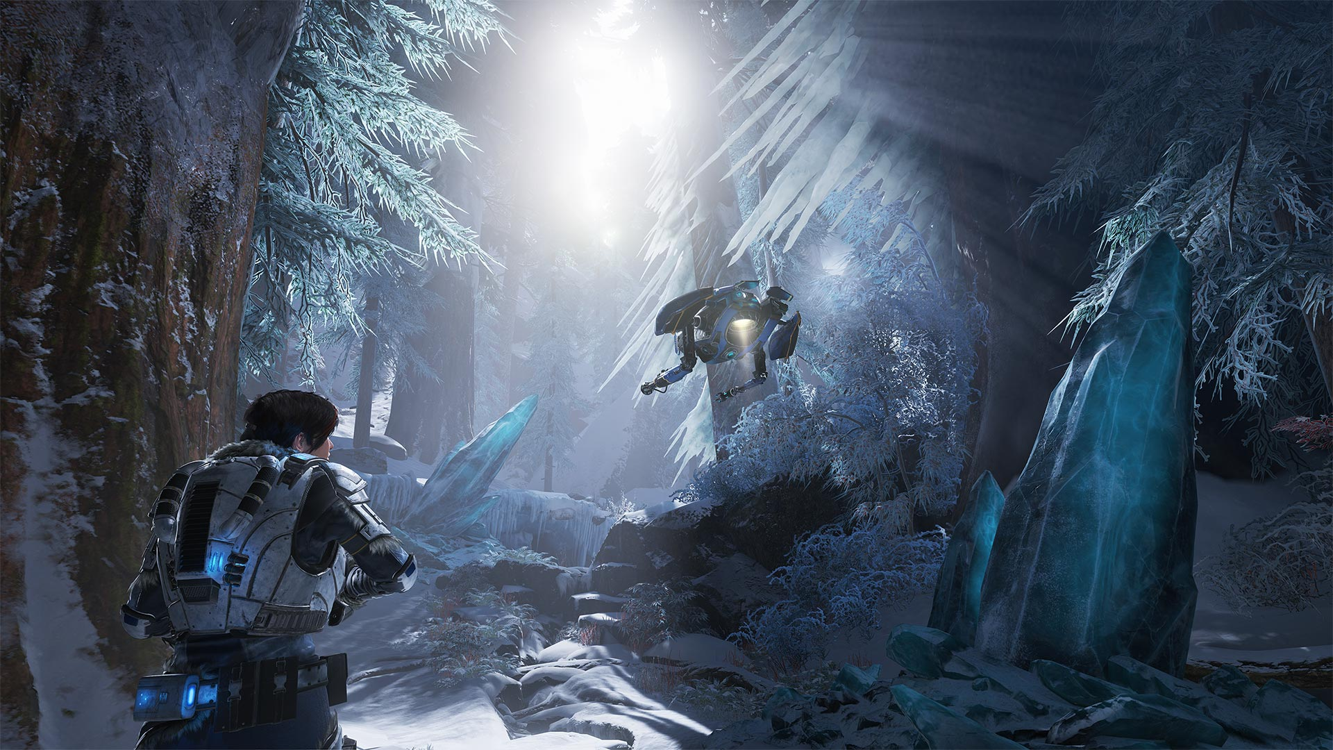 gears 5 ice forest