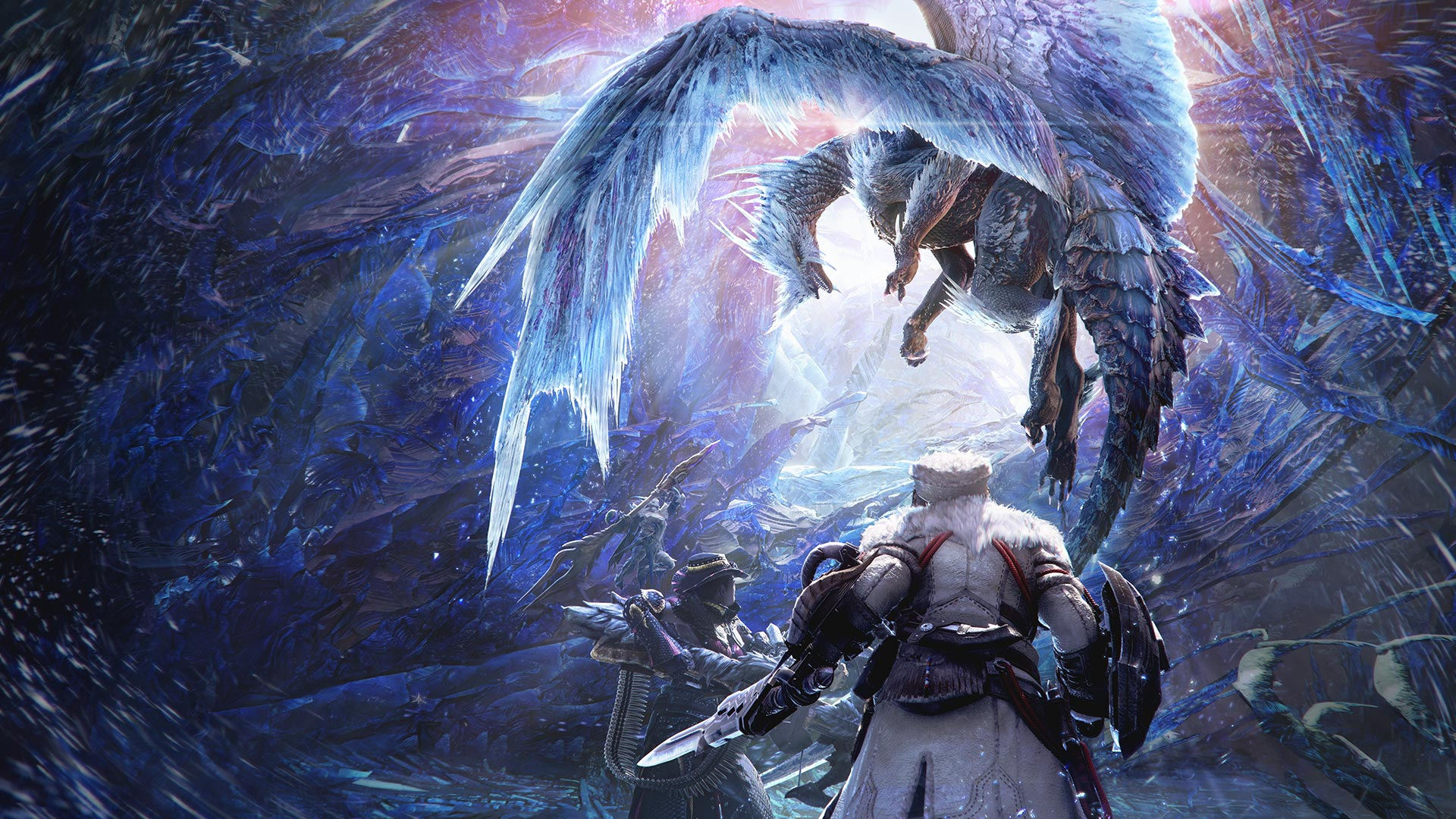 Monster Hunter World: Iceborne art
