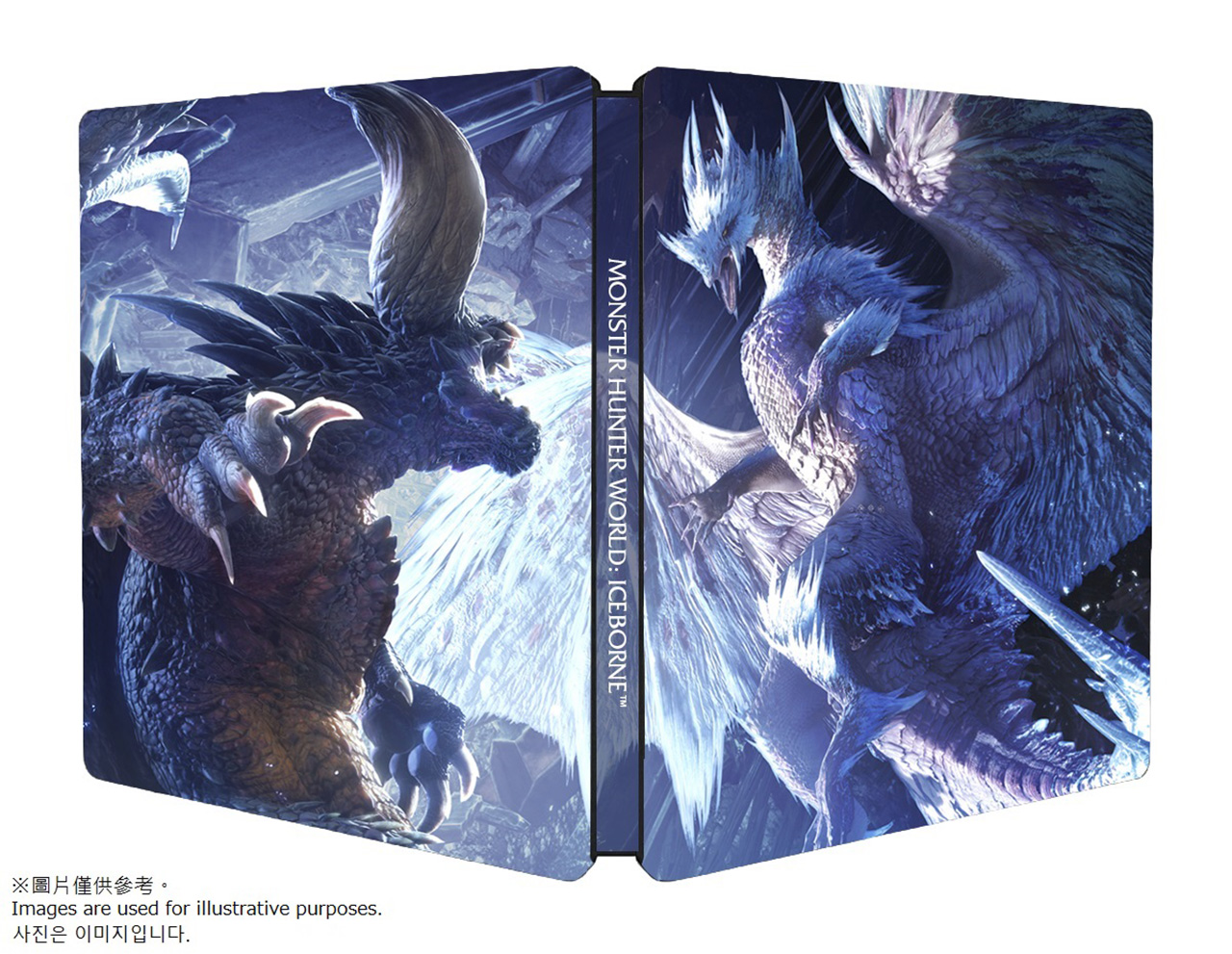 Image result for monster hunter world iceborne steelbook