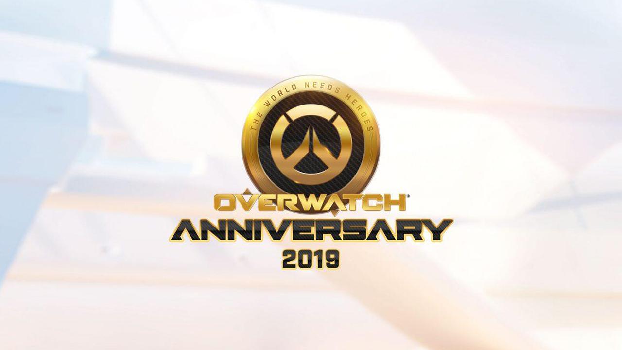 Overwatch Anniversary 2019 Logo