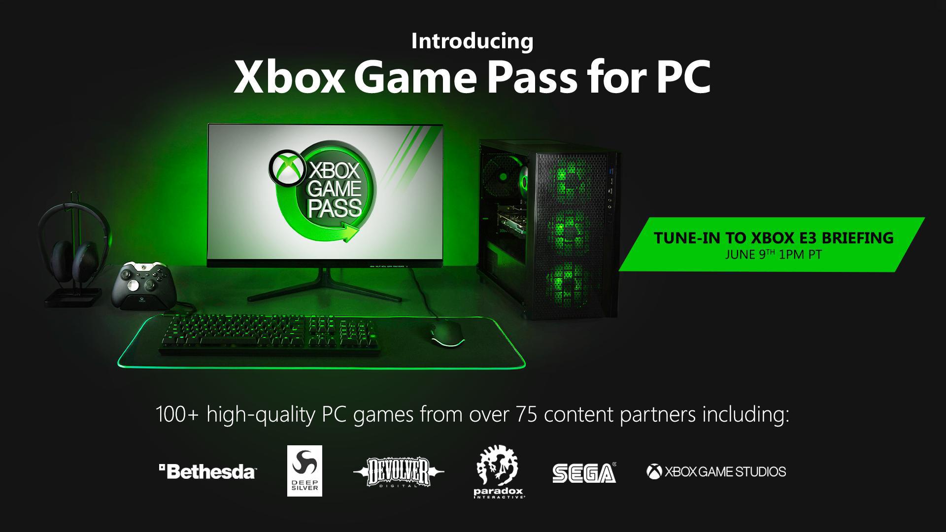 xbox game pass pc e3 2019