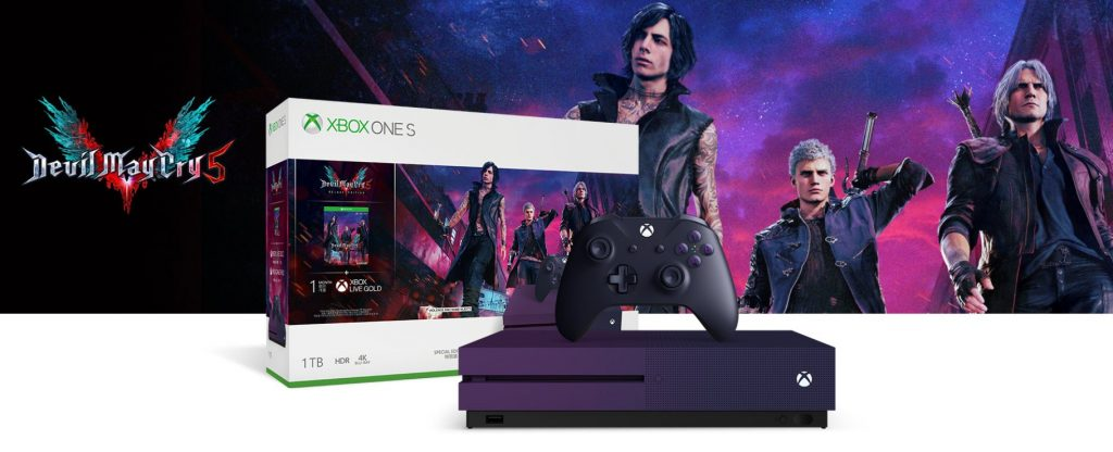 DMC5 Special Edition Xbox One S Bundle