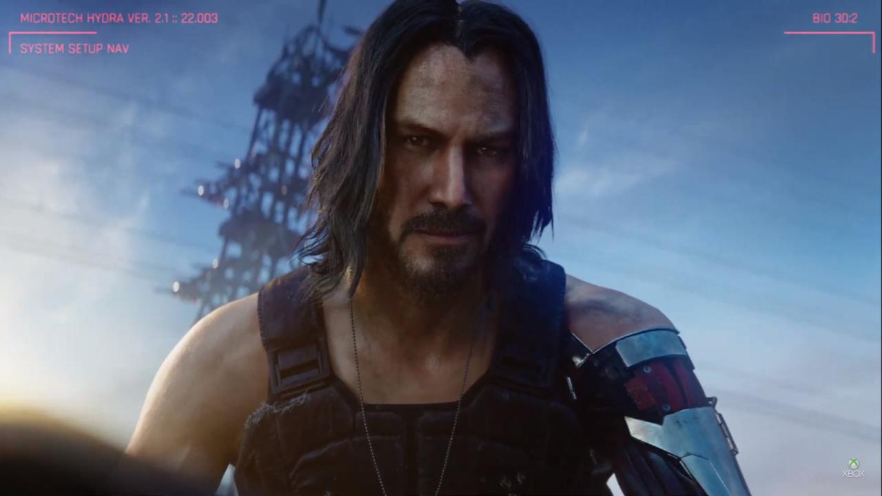 E3 2019 - Cyberpunk 2077 - 01