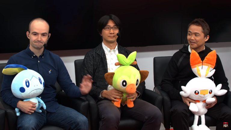 E3 2019 Nintendo Treehouse Live Poke Sword and Shield 01