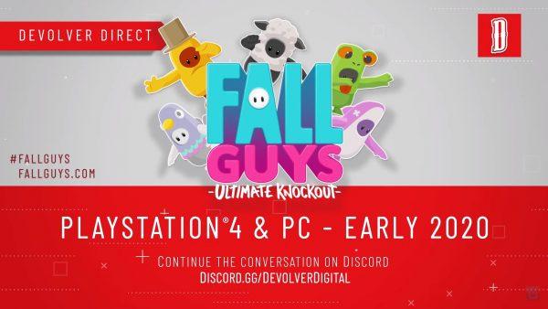 e3 2019 - devolver digital - fall guys