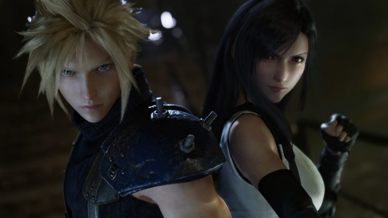 Final Fantasy VII Remake E3 2019 - Cloud Tifa