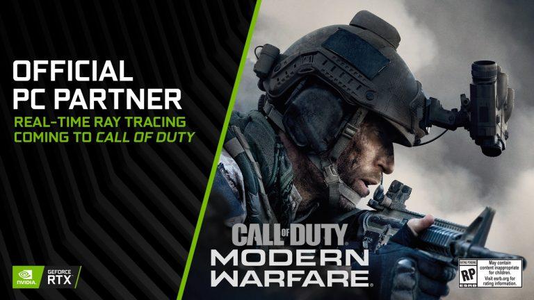 call of duty: modern warfare nvidia