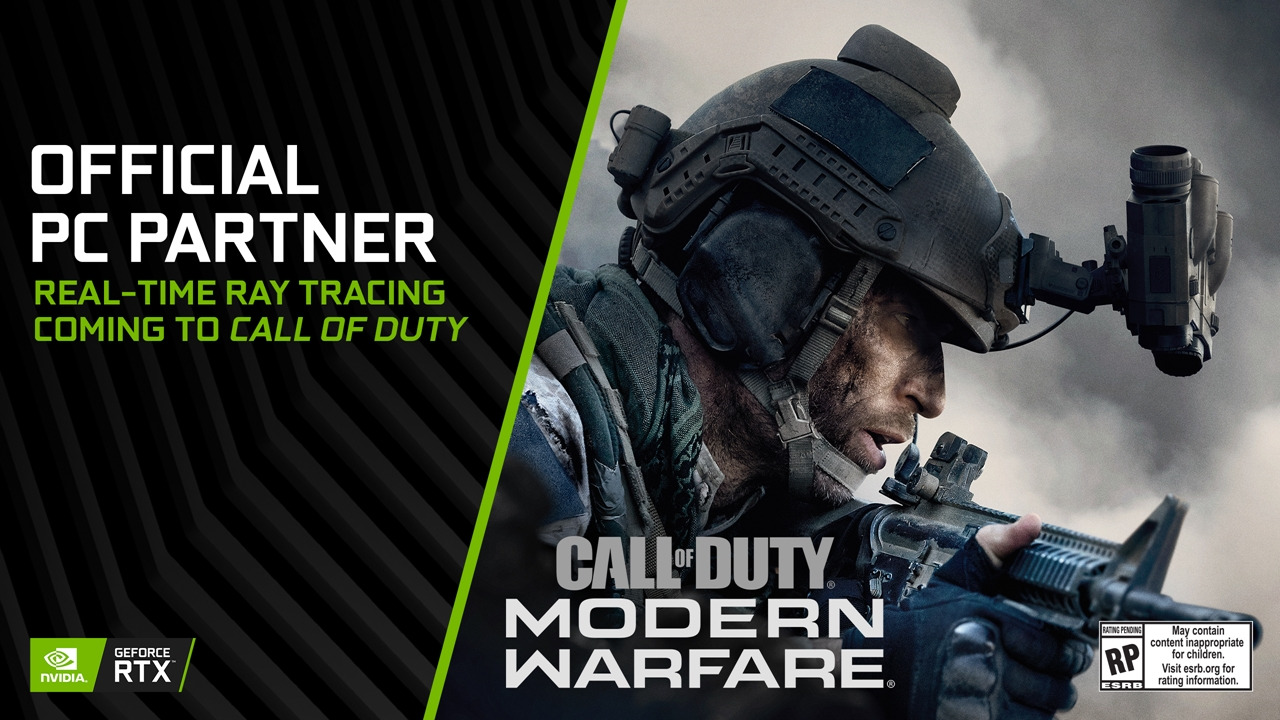 call of duty: modern warfare nvidia