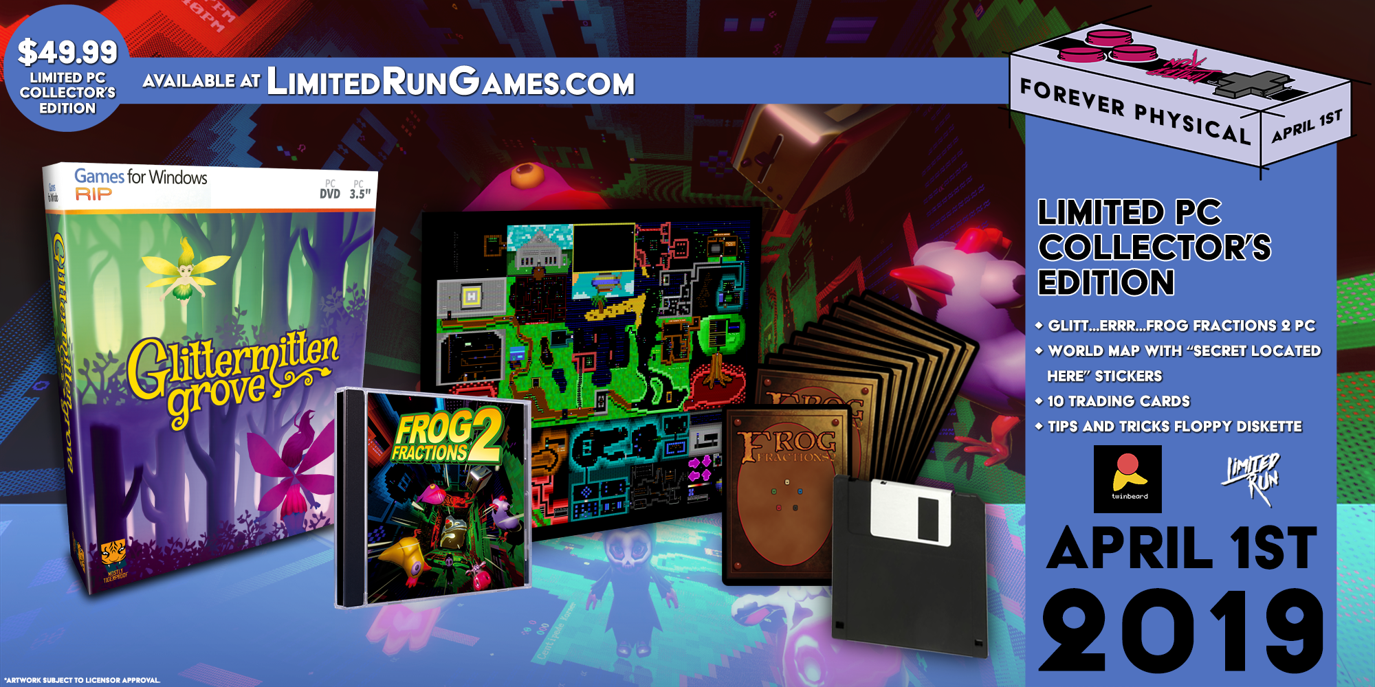 Limited Run Games - Frog Fractions 2