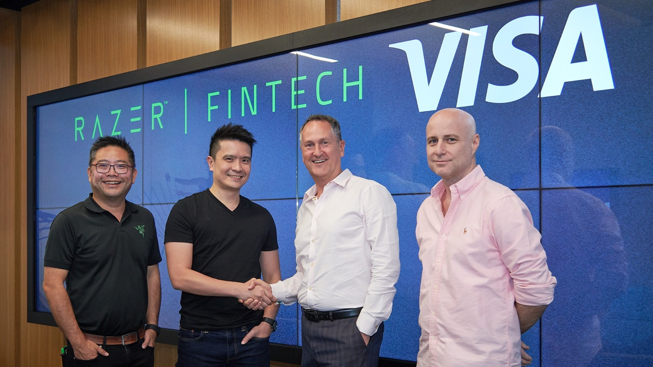 Razer Pay Visa executives