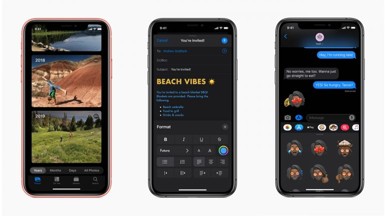 iOS 13 preview