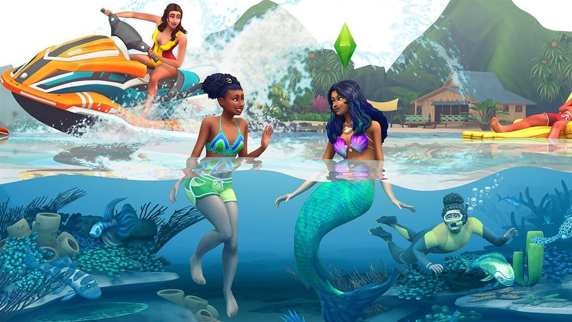 the sims 4 island living e3 2019